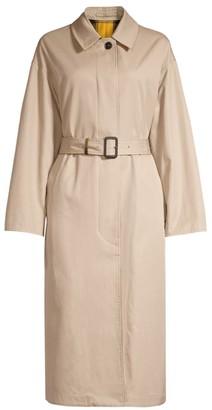 MACKINTOSH Amulree Reversible Solid & Plaid Trench Coat