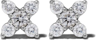 Dana Rebecca Designs 14kt white gold Ava Bea X diamond studs