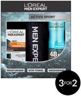 L'Oreal Paris Men Expert Active Sport Gift Set For Him