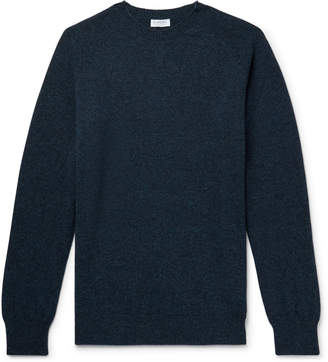 Sunspel Melange Wool Sweater