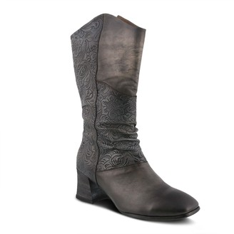 Spring Step L'Artiste Mid-Shaft Leather Boots - Lillya