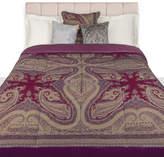 Etro Borgetto Quilted Bedspread - 270x270cm - Purple