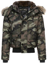 SAM. Icon camouflage bomber jacket