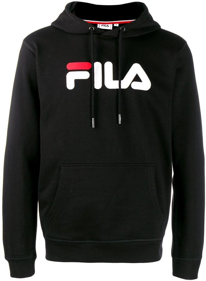 04f38acb logo print hoodie