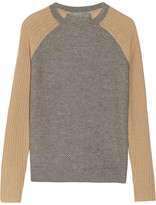 Reed Krakoff Honeycomb-knit cashmere sweater