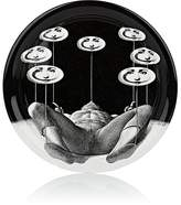 Fornasetti Plate-Spinning Round Tray