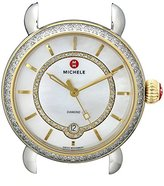 Michele Women's MW03T01C5963 CSX Analog Display Swiss Quartz Two Tone Watch Head