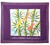 Bed Bath & Beyond Batik Dragonfly Motif English Challah Cover in Purple