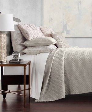 Hotel Collection Speckle Cotton Quilted Full/Queen Coverlet, Created for Macy's Bedding