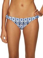 Shoshanna Printed String Bikini Bottom