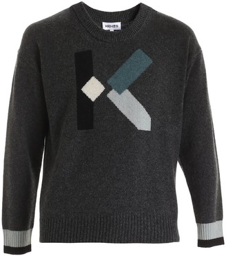 Kenzo k Intarsia Sweater