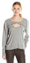 Gypsy 05 Women's Terry Loop Studded Sweatshirt