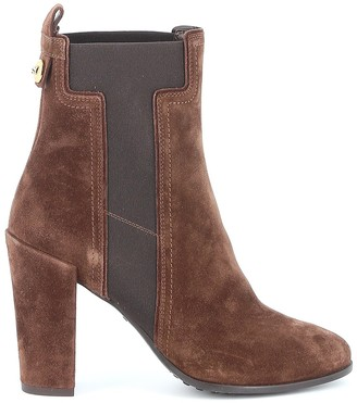 Tod's T Stitching Ankle Boots