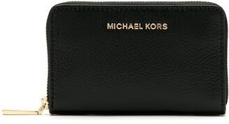 MICHAEL Michael Kors Pebble-Leather Zip-Around Wallet
