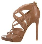 Alejandro Ingelmo Leather Multistrap Sandals