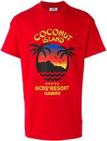 Gcds - Coconut Island T-shirt - men - Cotton - S