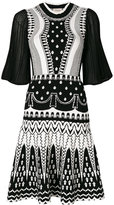 Temperley London Silvermist dress - women - Cotton/Polyester/Viscose - M