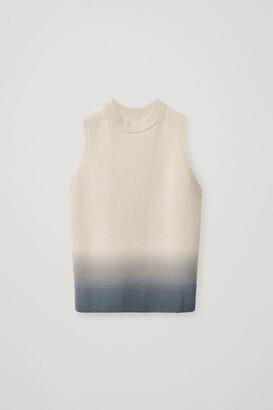 Cos Cashmere Ombre Vest
