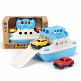 Asstd National Brand Green Toys Ferry Boat W Cars Dress Up Accessory