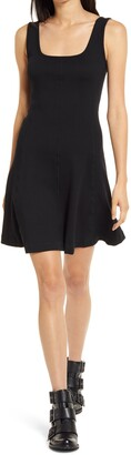 Ninety Percent Square Neck Skater Dress