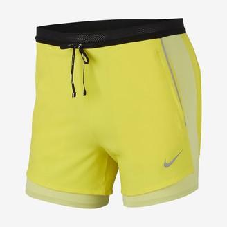 Nike Men's 2-In-1 Running Shorts Flex Swift