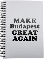Fotomax Notebook with MAKE Budapest GREAT AGAIN