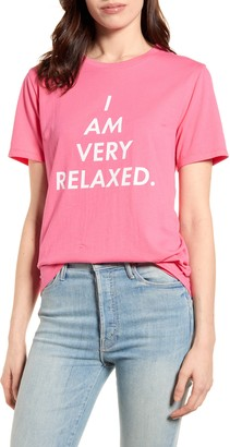 ban.do I Am Very Relaxed Graphic Tee
