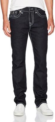 True Religion Men's Ricky Super T Straight Leg Jeans