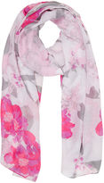 Oasis Neo Floral Print Scarf