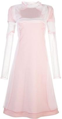 Y/Project Mesh Midi Dress