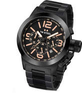 Zales Ladies' TW Steel Kelly Rowland Special Edition Chronograph Black Bracelet Watch with Black Dial (Model: TW312)