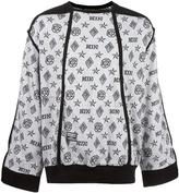 Kokon To Zai monogram Inside Out sweatshirt - unisex - Cotton - S