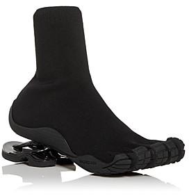 Balenciaga Men's Toe Knit High Top Sneakers