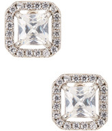 Nordstrom Rack Princess Cut Pave CZ Stud Earrings