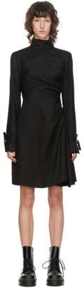 Opening Ceremony Black Slit Sleeve Mini Dress