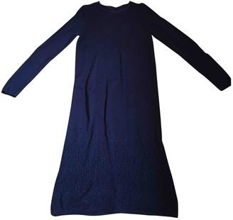Cos Blue Cotton Dress for Women