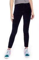 Articles of Society Hilary High Waist Velveteen Ankle Skinny Jeans