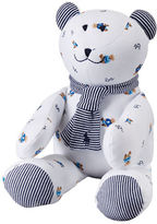 Ralph Lauren Baby Boys Striped-Detail Teddy Bear