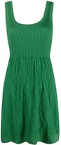 M Missoni sleeveless flared mini dress