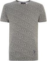 Villain Qr Code Printed T Shirt