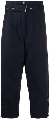 3.1 Phillip Lim Belted High-Waisted Trousers