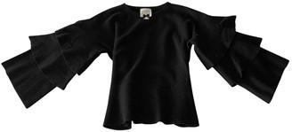 Edward Achour Black Wool Knitwear for Women
