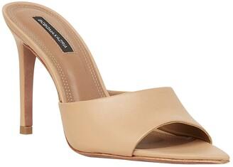 BCBGMAXAZRIA Dana Swarovski Crystal Translucent Mule Sandals - ShopStyle