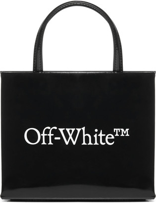Off-White Mini Box Patent Leather Bag