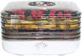 JCPenney Ronco FD6000WHGEN EZ Store Turbo 5 Tray Food Dehydrator