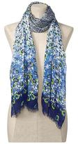 Graduated Floral Scarf