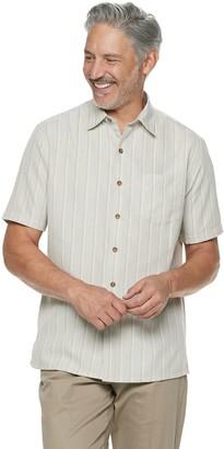 Croft & Barrow Men's Classic-Fit Microfiber Button-Down Shirt