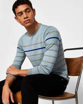 Ted Baker Striped cottonblend sweater