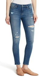 Ella Moss Ripped Skinny Jeans