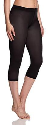 Kunert Women's 356000 Velvet 80 Leggings, 75 DEN, Black 0500), (size: 44/46)